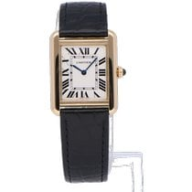 Cartier Tank Solo Gold/Steel 31mm Silver