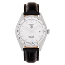 TAG Heuer Carrera Calibre 7 Steel 39mm White No numerals United States of America, Florida, Surfside