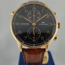 IWC Portugieser Chronograph IW371210 Sehr gut Roségold 41mm Automatik
