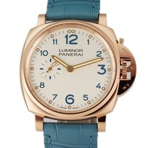 Panerai Luminor Due Rose gold 42mm Champagne Arabic numerals United States of America, New York, New York