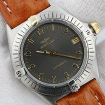 Breitling Callisto Stahl 34mm Grau Arabisch
