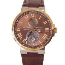 Ulysse Nardin Marine Chronometer 43mm Altın/Çelik Kahverengi Türkiye, Istanbul