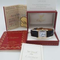 Cartier Tank Louis Cartier new 1990 Quartz Watch with original box and original papers W1529756