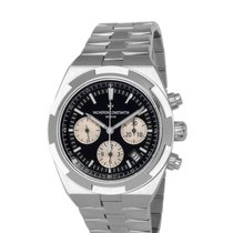 Vacheron Constantin Overseas Chronograph Steel 42mm Black United States of America, New York, Hartsdale