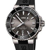 Oris Ceramic Automatic Black 43.5mm new Aquis Titanium Date