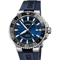Oris Aquis GMT Date Stahl 43.5mm Blau Deutschland, Bamberg