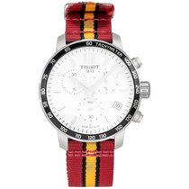Tissot Quickster Steel 42mm Silver Arabic numerals United States of America, New Jersey, Cresskill