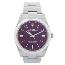 Rolex Oyster Perpetual 39 Steel 39mm Red United States of America, Texas, Dallas