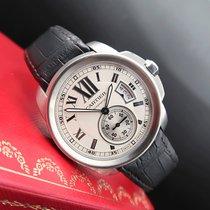 Cartier Calibre de Cartier Steel 42mm White Roman numerals