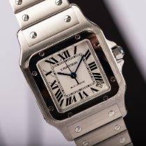 Cartier Santos Galbée neu 2008 Automatik Uhr mit Original-Box und Original-Papieren 2823