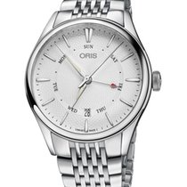 Oris Artelier Pointer Day Date Steel Silver No numerals United States of America, New York, Brooklyn
