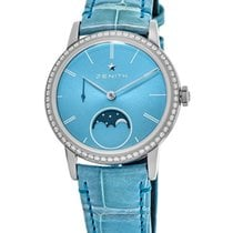 Zenith Elite Ultra Thin Steel Blue No numerals United States of America, New York, Brooklyn