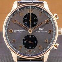 IWC Portuguese Chronograph IW371482 Неношеные Pозовое золото 40.9mm Автоподзавод