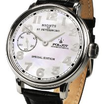 Poljot Nights of St. Petersburg Steel 43mm Mother of pearl Arabic numerals