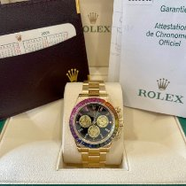 Rolex Daytona Yellow gold 40mm Black No numerals