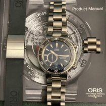 Oris Divers Titan Titanium 47mm Black No numerals