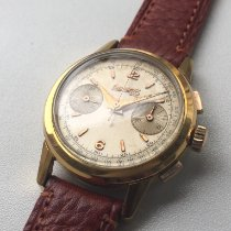Eberhard & Co. Yellow gold Manual winding 35mm pre-owned Extra-Fort