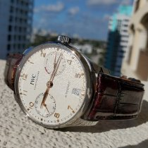 IWC Portuguese Automatic Steel 42.3mm Silver Arabic numerals United States of America, New Jersey, Holmdel