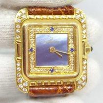 Universal Genève 116 630 Muito bom Ouro amarelo 23mm Quartzo