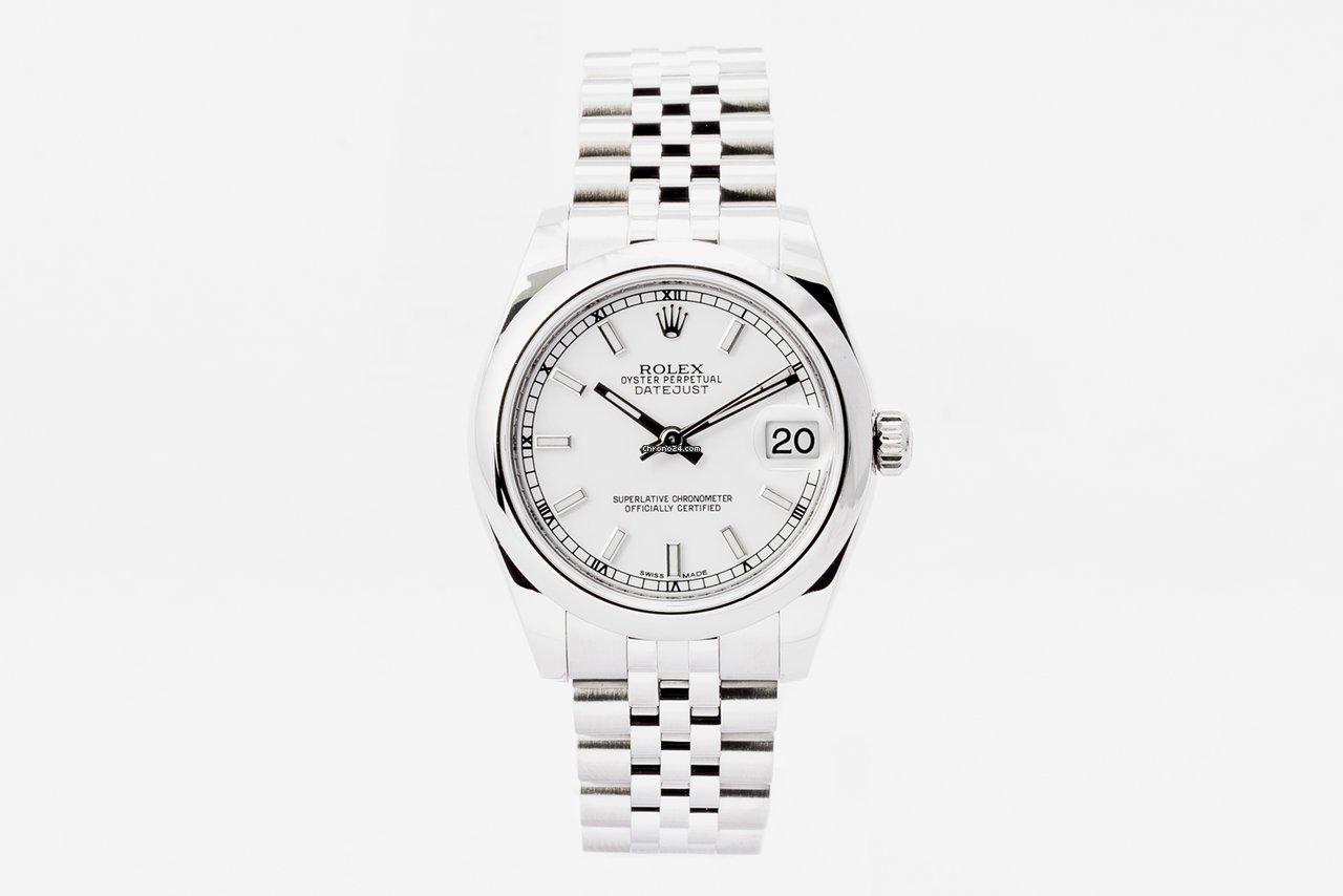 Rolex Datejust 31 178240 2018 подержанные