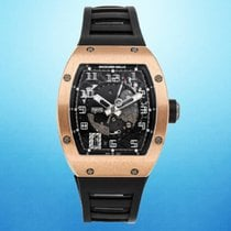 Richard Mille Rose gold Automatic Transparent Arabic numerals 38mm pre-owned RM 005
