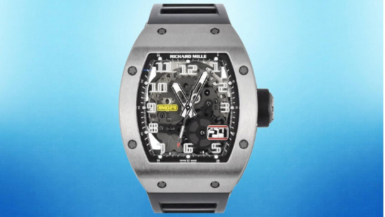 Richard Mille RM 029 RM029 2017 pre-owned
