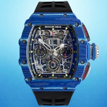 Richard Mille RM 011 new 2018 Automatic Watch with original box and original papers RM11-03 CA-FQ