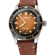 Oris 01 733 7707 4356-07 5 20 45 Steel 2021 Divers Sixty Five 40mm new