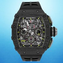 Richard Mille RM 011 Carbon 49.94mm Transparent Arabic numerals United States of America, New York, Jupiter