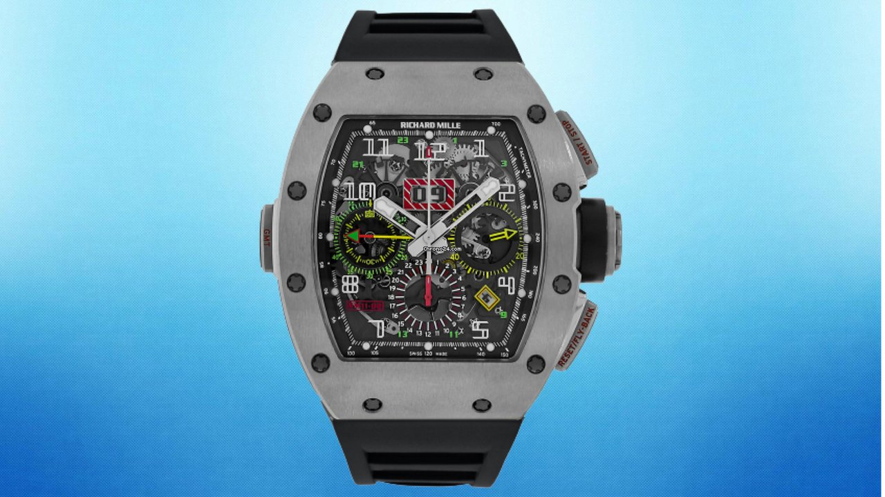 Richard Mille RM 011 RM11-02 Ti GMT 2016 pre-owned