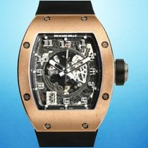 Richard Mille RM 010 Oro rosa 38mm Transparente
