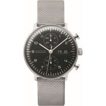 Junghans max bill Chronoscope Steel Black United States of America, Indiana, Indianapolis