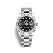 Rolex Datejust 126284RBR Новые Сталь 36mm Автоподзавод