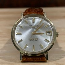 Longines Admiral Gold/Steel 35mm Champagne No numerals United States of America, New Jersey, Upper Saddle River