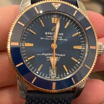 Breitling Superocean Heritage 42 Gold/Steel 42mm Blue No numerals