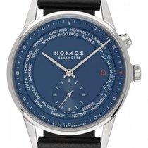 NOMOS (ノモス) チューリッヒ ワールドタイマー 807 新品 ステンレス 39.9mm 自動巻き