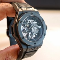 Hublot Big Bang Meca-10 usados 45mm Transparente Caucho