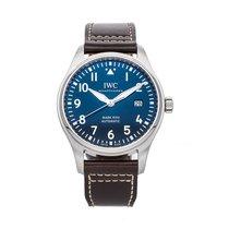 IWC Pilot Mark Steel 40mm Blue Arabic numerals United States of America, Pennsylvania, Bala Cynwyd