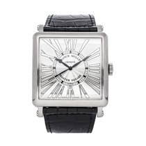Franck Muller Master Square White gold 42mm Silver United States of America, Pennsylvania, Bala Cynwyd