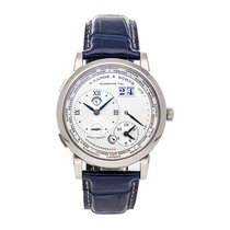 A. Lange & Söhne Lange 1 White gold 41.9mm Silver United States of America, Pennsylvania, Bala Cynwyd