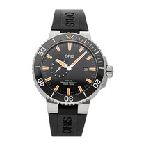 Oris Aquis Small Second Steel 45.5mm Black No numerals United States of America, Pennsylvania, Bala Cynwyd