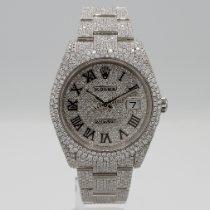 Rolex Datejust Steel 41mm White No numerals United States of America, California, Santa Monica
