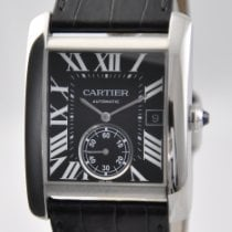 Cartier Tank MC Steel 44mm Black Roman numerals United States of America, Ohio, Mason