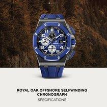 Audemars Piguet Royal Oak Offshore Chronograph Керамика 44mm Синий Aрабские