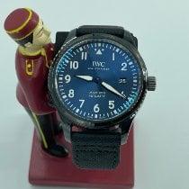 IWC Pilot Mark Steel 41mm Blue Arabic numerals Malaysia