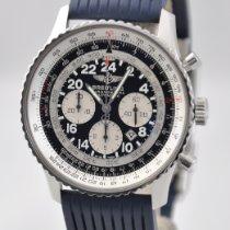 Breitling Navitimer Cosmonaute Сталь 43mm Черный Aрабские
