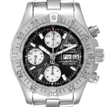 Breitling Superocean Chronograph II Steel 42mm Black United States of America, Georgia, Atlanta