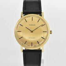 Tissot Gelbgold Handaufzug Gold 34mm gebraucht Stylist