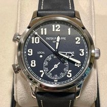 Patek Philippe Travel Time White gold 42mm Black Arabic numerals