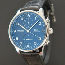 IWC Portuguese Chronograph Staal 40.9mm Blauw Nederland, Maastricht